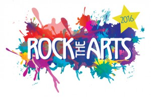 Rock the Arts logo